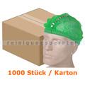 Einweghaube Ampri Klipphauben PP detektierbar M grün Karton