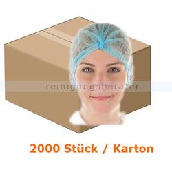 Einweghaube Hygonorm Klipphaube Eco PP-Vlies blau