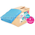 Einwegmop CleaningBox Desinfektion 42x13 cm blau 100 Stück