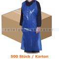 Einwegschürze Abena Lose 18 my 75 x 125 cm blau 500 Stück