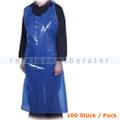 Einwegschürze Abena Lose 18 my 75 x 125 cm blau 50 Stück