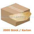 Einwegschüssel NatureStar BIO Holzschiffchen 2000 Stück