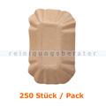 Einwegschüssel NatureStar BIO Schale Kraftpapier 250 Stück
