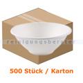 Einwegschüssel NatureStar BIO Zuckerrohr 900 ml 500 Stück
