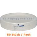 Einwegteller Abena BIO flacher Teller oval 19 x 26 cm 50 Stück