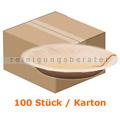 Einwegteller NatureStar BIO Suppenteller Palmblatt 100 Stück