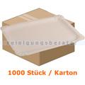 Einwegteller, Pappteller rechteckig 16,5x19,5 cm 1000 Stück