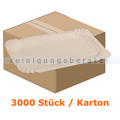 Einwegteller, Pappteller rechteckig 8x18 cm 3000 Stück