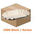 Einwegteller rechteckig 12,5x20,5x3,5 cm 1000 Stück