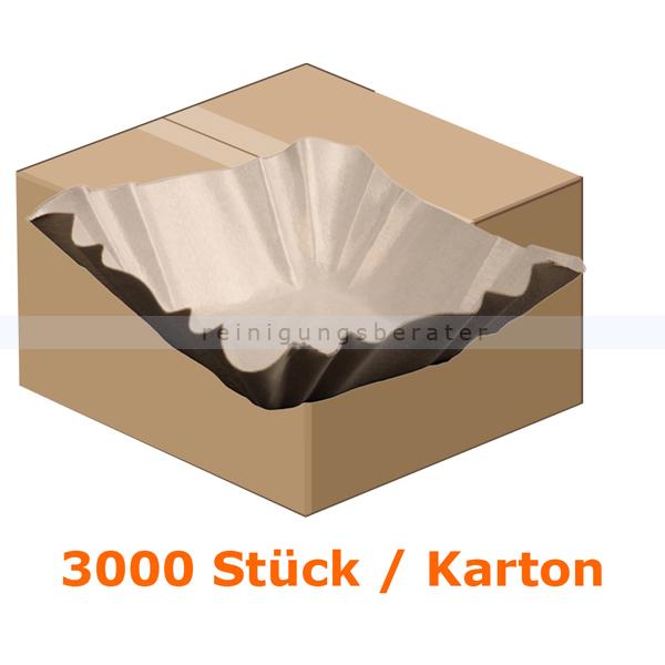 Einwegteller rechteckig 9x9x3 cm 3000 Stück