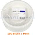 Einwegteller, tiefer Teller aus PAPPE Ø 18 cm, 100 Stück