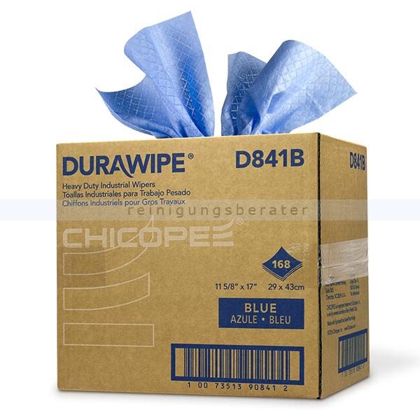 Einwegtücher CHICOPEE DuraWipe Super blau