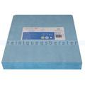 Einwegtücher ClaraClean Go! SX 100 blau 33x33 cm 1000 Stück