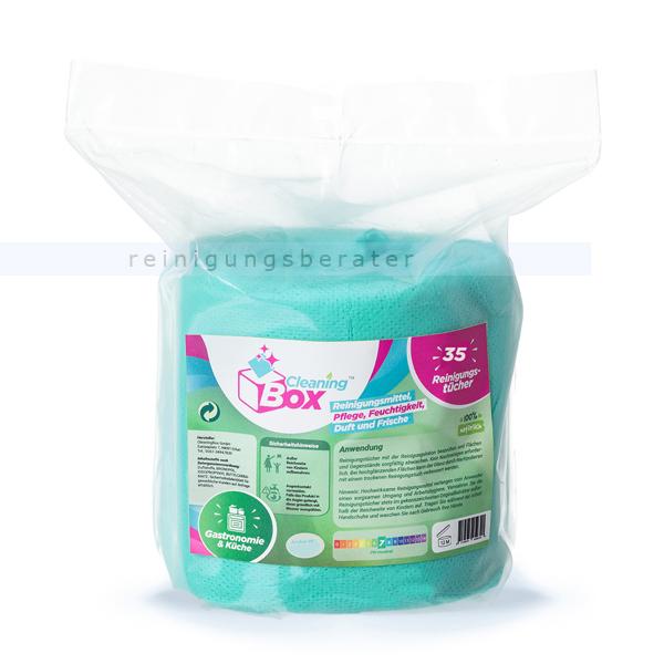 Einwegtücher CleaningBox 5-in-1 Gastro & Küche 35 Stück