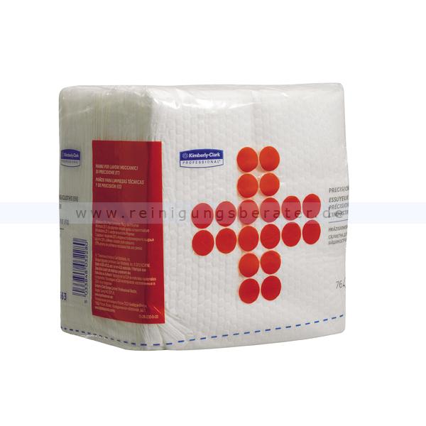 Einwegtücher Kimberly Clark Präzisionswischtücher Weiß