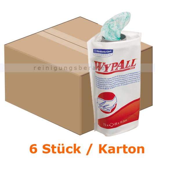 Einwegtücher Kimberly Clark WYPALL® Nachfüllpack Grün