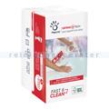 Einwegtücher Papernet Fast & Clean weiß 21x33 cm, 2-lagig