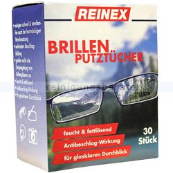 Einwegtücher Reinex Brillenputztücher 30er