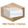 Einwegtücher WIPEX-CLEANZIE Wischtücher weiß, 40 x 38 cm