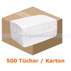 Einwegtücher WIPEX-Hygiene-Towel Airlaid weiß 24 x 38 cm