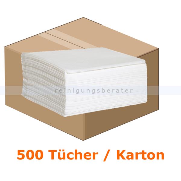 Einwegtücher WIPEX-SPEZIAL Wisch-Poliertuch weiß 40 x 38 cm
