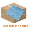 Einwegtücher WIPEX-STRONG Vliestücher blau, 30 x 38 cm