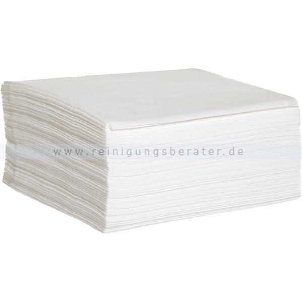 Einwegtücher WIPEX-STRONG Vliestücher weiß, 40 x 38 cm