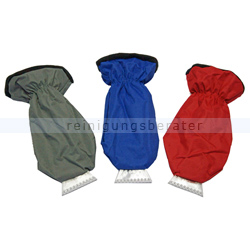 Eiskratzer mit Handschuh, Handschuheiskratzer FEBU 90 mm