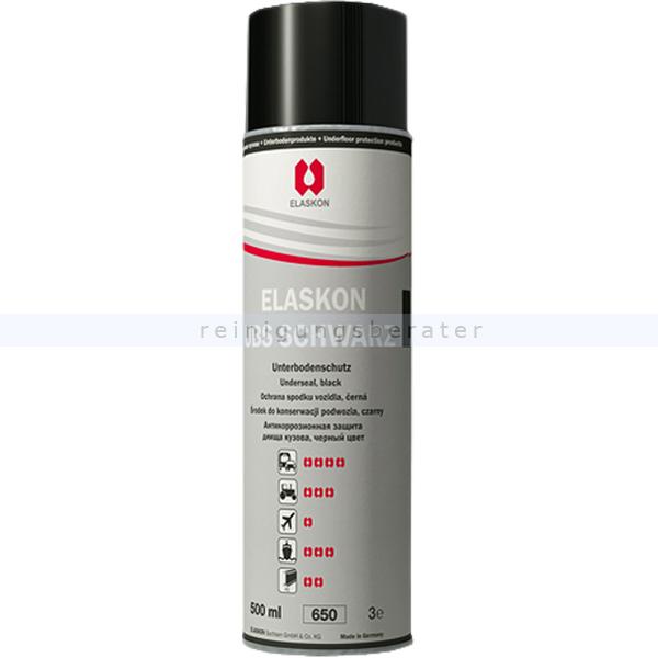 ELASKON Unterbodenschutz UBS schwarz 500 ml