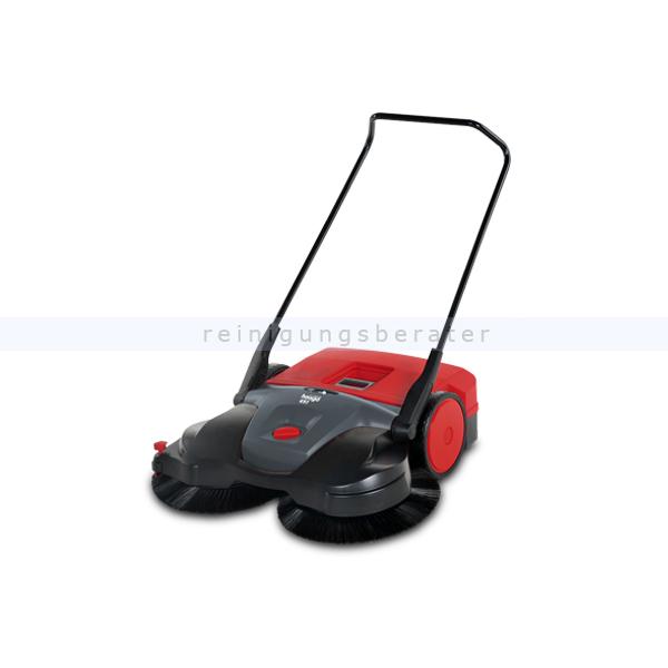 haaga 697 isweep elektrische profi kehrmaschine akku. Black Bedroom Furniture Sets. Home Design Ideas