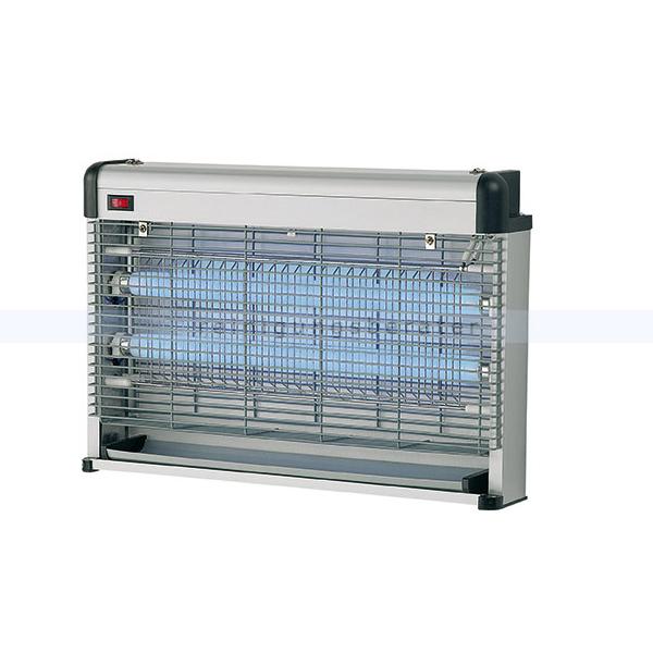 KILEO elektrischer Insektenvernichter Rossignol 30 W mit Stromgitter, Aluminium 51536
