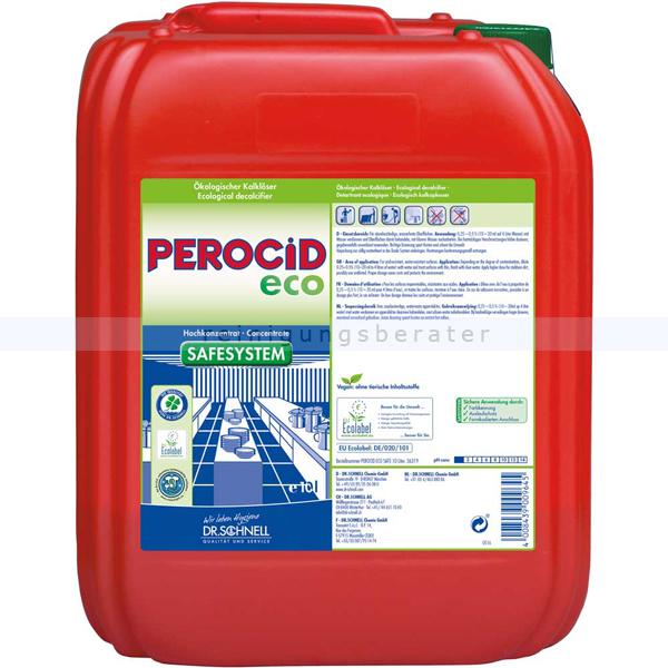 Dr. Schnell Perocid Eco 10 L ökologischer Entkalker ökologischer Kalklöser 36319