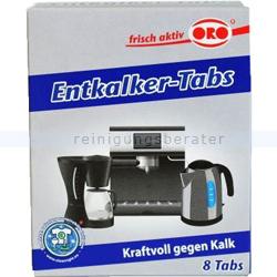 Entkalker Oro frisch-aktiv Entkalker Tabs 8 x 16 g