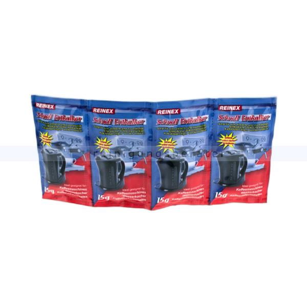 Entkalker Reinex Entkalker-Tabs 4 x 15 g geeignet für Kaffeemaschinen und Wasserkocher 13839