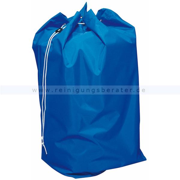 Entsorgungssack Vermop blau 70 L stabiler Nylonsack für Schmutzwäsche oder Abfallentsorgung 1226501