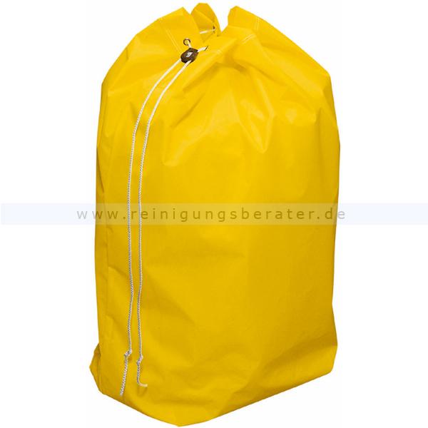 Entsorgungssack Vermop gelb 70 L stabiler Nylonsack für Schmutzwäsche oder Abfallentsorgung 1226505