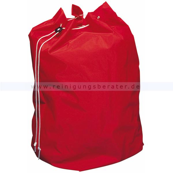 Entsorgungssack Vermop rot 40 L stabiler Nylonsack für Schmutzwäsche oder Abfallentsorgung 1224502