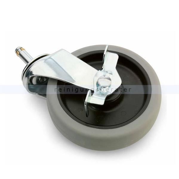 Ersatzräder und Rollen Numatic Laufrad 100 mm ohne Bremse Ersatzrad für Reinigungswagen 204062