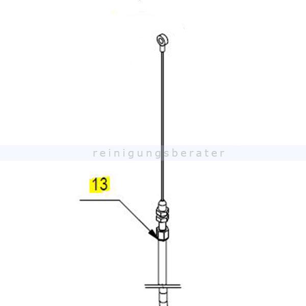 Ersatzteil Fimap Bowdenzug Genie BS Fimap Zubehör und Ersatzteile 429066