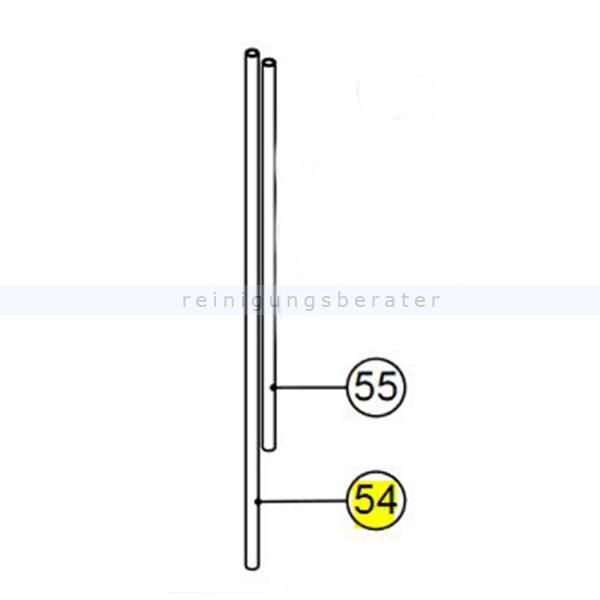 Numatic 391504 Nylonschlauch für TRO Außendurchmesser 8 mm, Innendurchmesser 6 mm x 800 mm