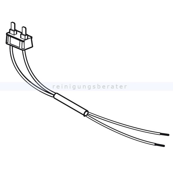 Ersatzteil Sebo 0895ER Flachsteckeraufnahme kpl. 2-polig