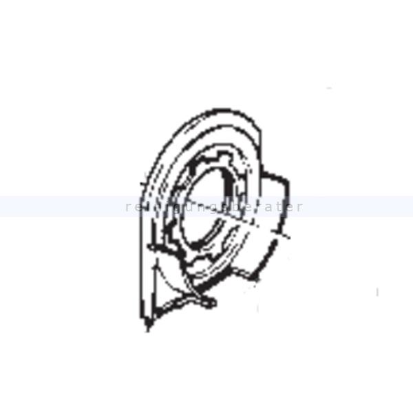 Ersatzteil Sebo 5177 Gelenklager links komplett X