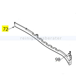 Ersatzteil Verkleidung für LS 38 L-ion Akkusauger