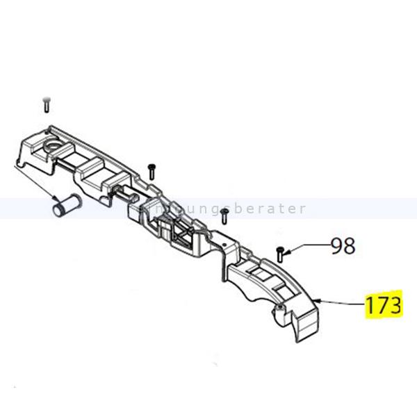 Lindhaus Verkleidung für LS 38 passend für die Scheuermaschinen LW 38 100583812