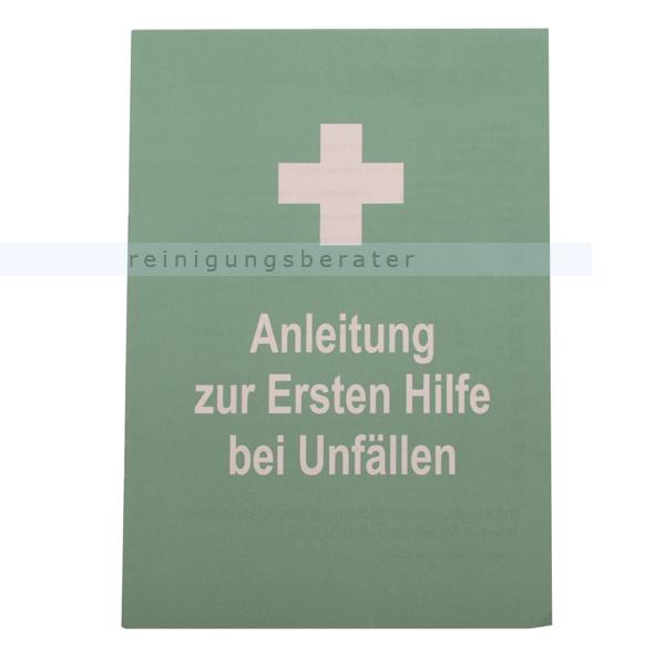 Erste Hilfe-Broschüre Leina für DIN 13157 & DIN 13169