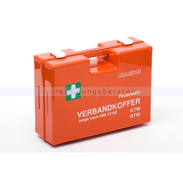Leina Werke Erste Hilfe Koffer Leina Feuerwehr & Krankenwagen DIN 14142 Inhalt gemäß DIN 14142, ABS-Kunststoff 40000