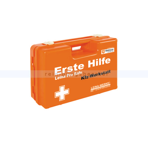 Erste Hilfe Koffer Leina Pro Safe KFZ Werkstatt DIN 13157