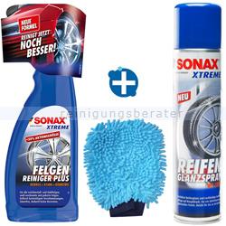 Fahrzeugpflege Sets SONAX XTREME zur Felgenreinigung Set 2