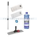 Feinsteinzeug Mop Set Sprintus für Unterhaltsreinigung 40 cm