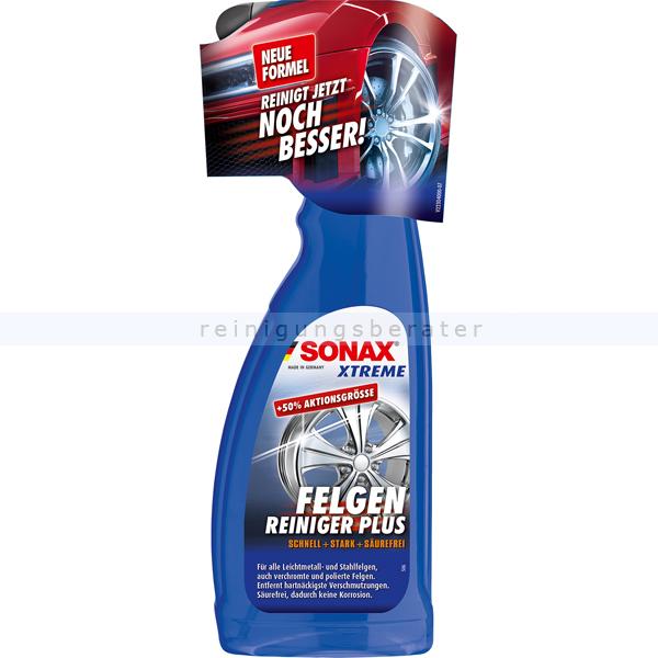 SONAX XTREME FelgenReiniger PLUS, 750 ml hochwirksamer, säurefreier Spezialreiniger 02304000